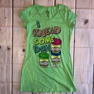 I Knead Some DOH PLAY DOH T-shirt EUC Medium 8/10